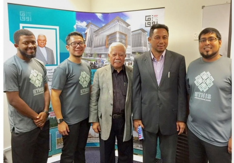 Tan Sri Muhammad Ali Hashim with Ethis KL